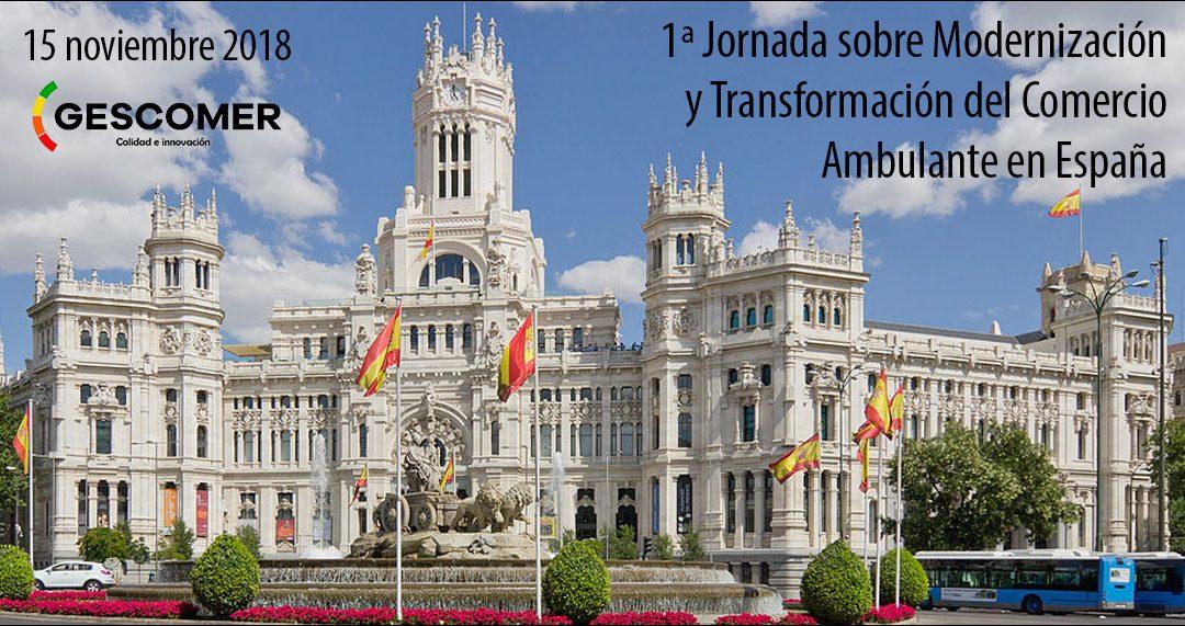 1ª Jornada sobre Modernización y Transformación del Comercio Ambulante en España