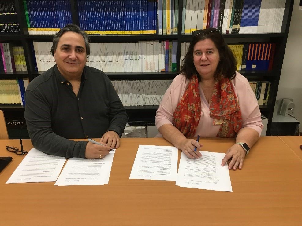 Firma Convenio de Colaboración Gescomer y FGUA